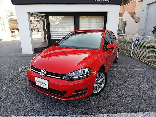 沖縄の中古車 フォルクスワーゲン VW ゴルフ 車両価格 200万円 リ済別 2017(平成29)年 2.0万km トルネードレッド