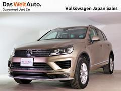 VW トゥアレグV6 アップグレードP レザーシート ワンオーナー