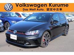 VW ゴルフGTIGTI Clubsport Track Edition DCC
