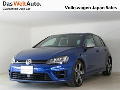 VW ゴルフRR 4Motion 280ps 黒革 禁煙 認定中古車