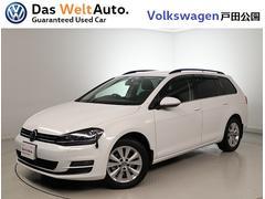 VW ゴルフヴァリアントTSIコンフォートライン バイキセノン 純正ナビETC2.0