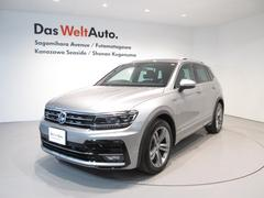 VW ティグアンTSI R−Line メーカー保証付 認定中古車