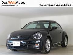 VW ザ・ビートルベージュレザー NAVI BC ワンオーナー DWA認定中古