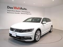 VW パサートヴァリアント2.0TSI Rライン メーカー保証付 認定中古車