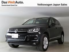 VW トゥアレグV6 アップグレードPKG レーザーシート HDDナビ