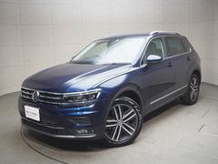 VW ティグアンTDI ハイライン 元試乗車 認定中古車 保証付き