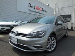 VW ゴルフTSI Comfortline Tech Ed登録済未使用車