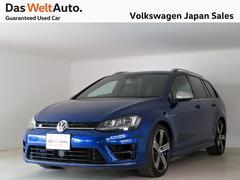 VW ゴルフRヴァリアント黒革 2Lターボ4WDワゴン 280PS ACC 認定中古車