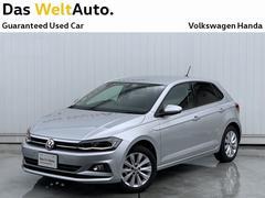 VW ポロTSI Highline 正規認定中古車 デモカー ACC