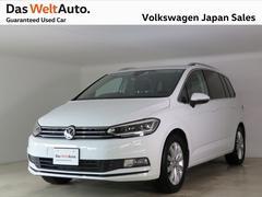 VW ゴルフトゥーランTSIハイライン LED 純正ナビ レンタアップ 認定中古車