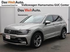 VW ティグアンTSI Rライン 1オーナー 純正ナビ 認定中古車 ETC