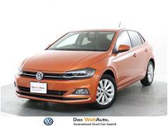 VW ポロハイライン 試乗車禁煙車 ナビ ACC BC ETC LED