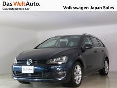 VW ゴルフヴァリアントTSIハイライン走行12000km ACC ナビ 認定中古車