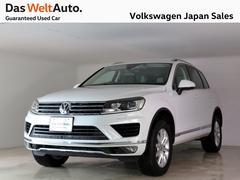VW トゥアレグV6 アップグレードP NAVI ACC BC DWA認定車