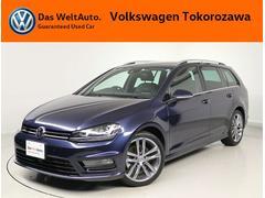 VW ゴルフヴァリアントTSI Rライン レザーシート