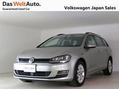 VW ゴルフヴァリアントコンフォートライン 純正ナビ 禁煙1オーナー 認定中古車