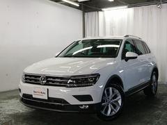 VW ティグアンTSI Highline デモカー LED ACC Bカメラ