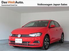VW ポロコンフォートライン 元社用車 純正ナビ エンブレムカメラ