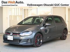 VW ゴルフGTI認定中古車保証、液晶メーター、ナビ、ETC、バックカメラ