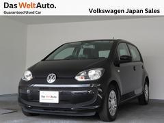 VW アップ!ムーブアップ シティエマージェンシーブレーキ装備 ナビ
