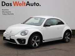 VW ザ・ビートルRラインマイスター デモカー 黒本革シート バックカメラ