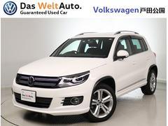 VW ティグアンTSI R−Lineブルーモーション 認定中古車 純正ナビ