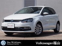 VW ポロTSI CL 純ナビBカメ 禁煙車 弊社下取1オーナー車