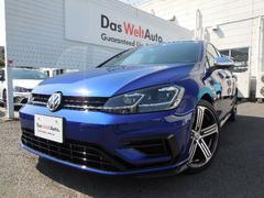 VW ゴルフRR  4WD 純正ナビ ACC Rカメラ 新車保証
