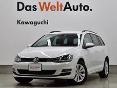 VW ゴルフヴァリアントTSI Comfortline BlueMotion Technology NAVI ETC BC