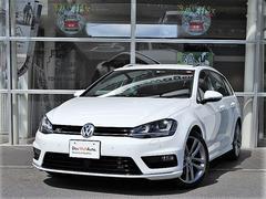 VW ゴルフヴァリアントR−Line レザー・シートヒーター・純正ナビ・DCC