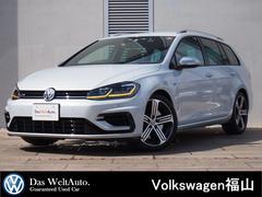 VW ゴルフRヴァリアントR 4MOTION 禁煙車 弊社下取1オーナー車
