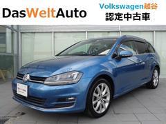 VW ゴルフヴァリアント純正ナビ ETC リヤカメラ 認定中古車