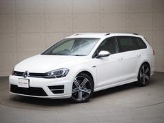 VW ゴルフRヴァリアントR レザーシート 認定中古車 保証付き
