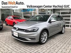 VW ゴルフヴァリアントコンフォートライン 元試乗車 禁煙車 認定中古車 ナビ付き
