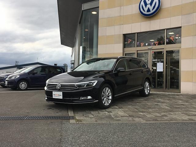 「フォルクスワーゲン」「VW パサートヴァリアント」「ステーションワゴン」「北海道」の中古車