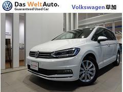 VW ゴルフトゥーラン認定中古車 DemoCar ガソリン車テクノロジーパッケージ