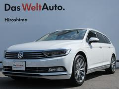 VW パサートヴァリアントTSI ハイライン リアカメラ LED ACC 認定中古車