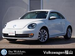 VW ザ・ビートルDesign 黒レザー 純ナビBカメ禁煙車 弊社下取1オーナ