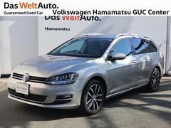 VW ゴルフヴァリアントハイライン コネクト 1オーナー 禁煙車 純正ナビ ETC