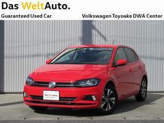 VW ポロTSI Comfortline 正規認定中古車 デモカー
