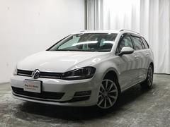 VW ゴルフヴァリアントTSI Highline 純正ナビBカメラ・ACC・ETC
