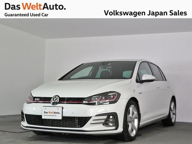 フォルクスワーゲン GTI 7.5 ACC LED パールホワイト 認定中古車