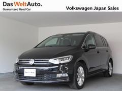 VW ゴルフトゥーランTSI ハイライン ACC 純正ナビ バックカメラ 禁煙車