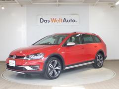 VW ゴルフオールトラックTSI 4MOTION discoverプロナビ付