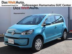 VW アップ!ムーブアップ 4ドア 1オーナー 禁煙車 Bluetooth