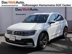 VW ティグアンRライン 1オーナー 禁煙車 純正ナビ 認定中古車 ETC