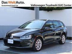 VW ゴルフヴァリアントTSI Highline ブラウンレザーシート