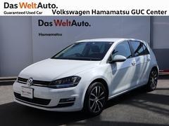 VW ゴルフハイライン コネクト 1オーナー 禁煙車 純正ナビ ETC