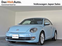 VW ザ・ビートルデザインレザーPKG2 黒革 社外ナビ キセノン 認定中古車