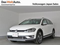VW ゴルフオールトラックTSI 4MOTIONデモカー レザーシート 認定中古車